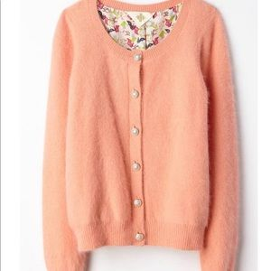 Anthropologie | Monogram Epoca Cardigan- Peach XL